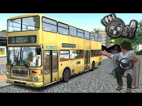 OMSI - Simulador de ônibus - Voltando com tudo para o canal! - Com Logitech G27