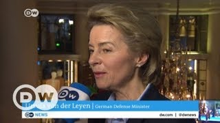 Munich Security Conference - DW talks to Ursula von der Leyen, German Defense Minister | DW English - DEUTSCHEWELLEENGLISH