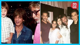Amitabh Bachchan Bought Cotton Candies For AbRam, Khan Family's Double Celebration - ZOOMDEKHO