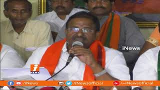 BJP Somu Veerraju Reacts on CM Chandrababu Comments Central Govt and Governor | iNews - INEWS