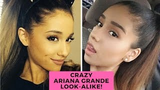 Ariana Grande Look-alike Confuses Fans & Takes Over Instagram! - HOLLYWIRETV
