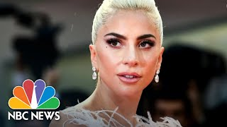 Watch Lady Gaga Stop Concert To Call Out VP Pence On LGBTQ Rights | NBC News - NBCNEWS