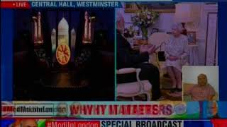 Bharat Ki Baat Sabke Sath: PM in London addressing Indian diaspora - NEWSXLIVE