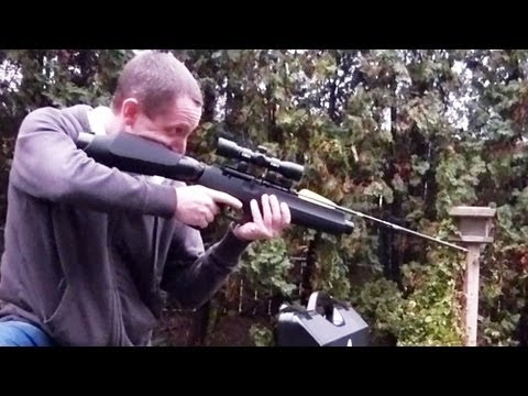 Airgun that Shoots Arrows - FX Verminator Extreme MKII