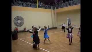Показові виступи з бальних танців (діти)