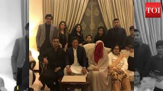Former cricketer Imran Khan marries for the third time - TIMESOFINDIACHANNEL