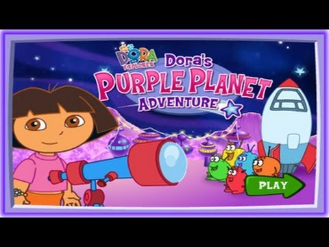 Dora's Purple Planet Adventure Game - Dora The Explorer