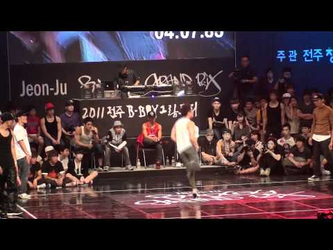 Visual Shock vs Ground Scratch (win) | Quarter Final | Jeonju Grand prix 2011