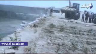 بالفيديو والصور.. حملة مكبرة لإزالة التعديات على المجارى المائية بإطسا فى الفيوم