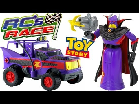 Emperor Zurg with Grappling Hook racing cars RCs Toy Story 3 Disney Pixar review Blucollection