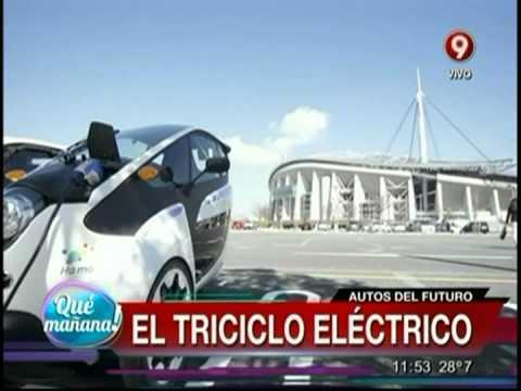 Autos del futuro: El triciclo eléctrico