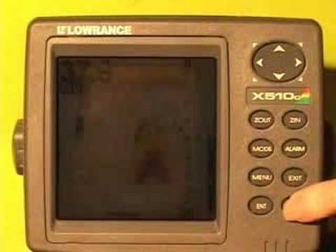 Lowrance X 510C X515C DF Fishfinders