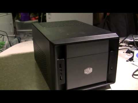 ITX mini SLI gaming PC - i3 Ivy Bridge and EVGA GTX 460 2WIN graphics card