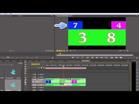 Premiere Pro Basics CS6: 19 Tools Part 4: Slip & Slide Tools