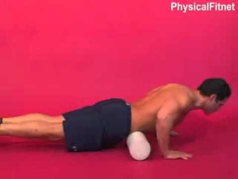 Ćwiczenia na płaski brzuch - Masaż brzucha na piance