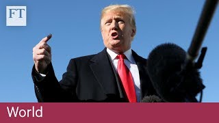 Trump concedes it 'looks like' Khashoggi is dead - FINANCIALTIMESVIDEOS