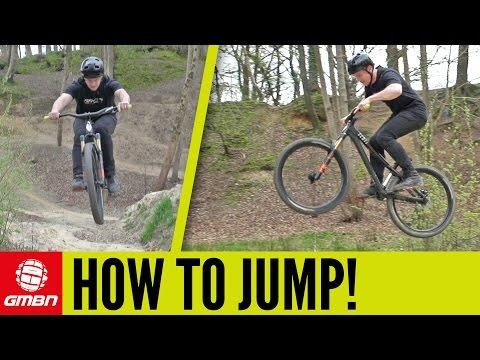 How To Jump On A Mountain Bike | MTB Skills