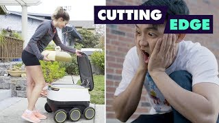 Delivery Robots Coming to a Sidewalk Near You! (with Feast of Fiction) | - FOODNETWORKTV