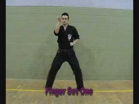 Kenpo Salutation,5 Star Block Set,Finger Set1 & Short Form 1