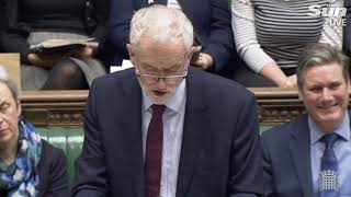Jeremy Corbyn debates Brexit deal with Theresa May in Commons - THESUNNEWSPAPER