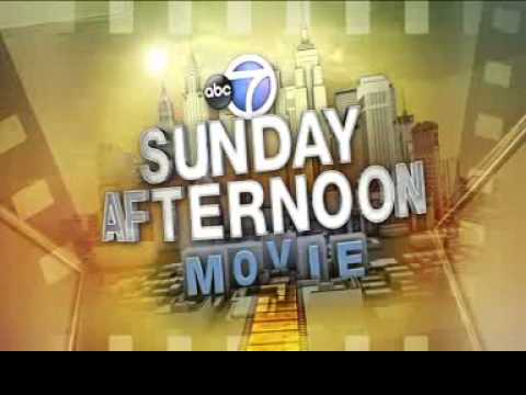 WABC Sunday Afternoon Movie Open/Close 2013