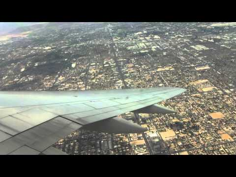 United Airlines Boeing 757-200 takeoff from Las Vegas