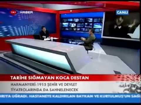 Çanakkale Oyunu HARMANYERİ-1915 / TRT Canlı Yayın (T.Prizma / Gürdal )