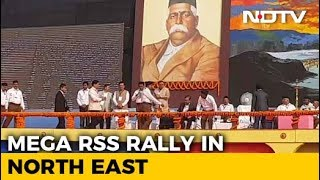 In Show Of Strength, RSS Holds 'Biggest-Ever' Rally In Assam - NDTV