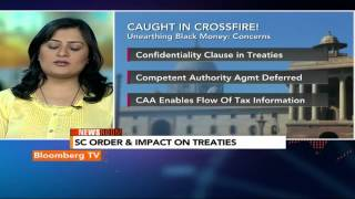 Newsroom: Black Money Concerns: Confidentiality Clause in Treaties - BLOOMBERGUTV