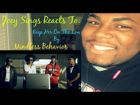 Keep Her On The Low - Mindless Behavior (REACTION VIDEO)