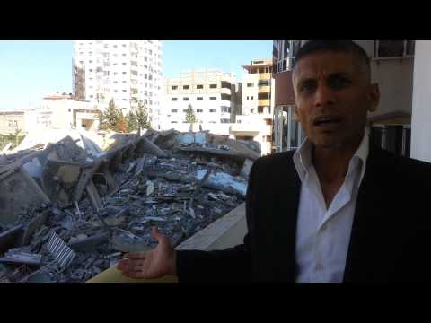 High Building (in Gaza) destroyed by Israel!