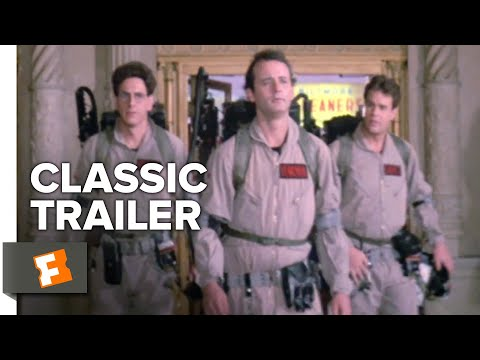 Ghostbusters (1984) Trailer #1 | Movieclips Classic Trailers - صوت وصوره لايف
