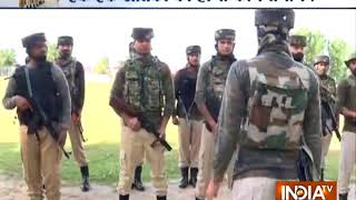 Watch: Video shows Lashkar-e-Taiba commander providing training to terrorists in J&K's Sopore - INDIATV