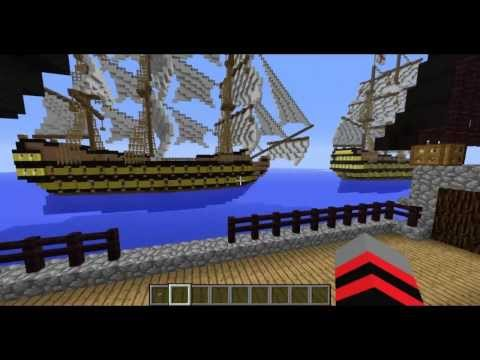 Minecraft #2 - ( Quase ) Batalha de Navios
