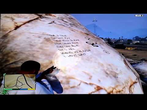 Easter egg secret number of serial killer GTA 5 X Dewol