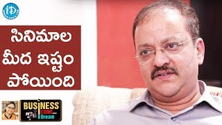 I Lost Interest In Watching Movies - MD Sudhish Rambhotla || Business Icons With iDream - IDREAMMOVIES