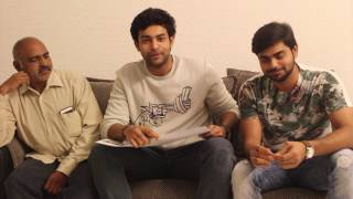 Varun Tej launches Anil Kalyan first look in Gulf - idlebrain.com - IDLEBRAINLIVE