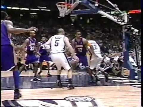 Jason Kidd 30 pts & 10 ast vs Lakers - 2002 NBA Finals - Gm 3 - 6/9/02