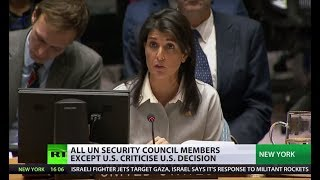 'Only US has credibility when it comes to mediating Israeli-Palestinian conflict' - Haley to UNSC - RUSSIATODAY