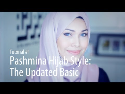 [Adlina Anis] Hijab Tutorial 1 | The Updated Basic