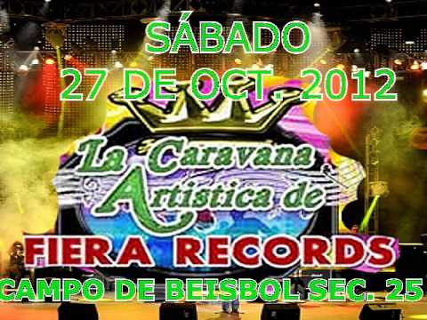 SPOT BAILE FIERA RECORDS 27 OCT 2012 EN NARANJOS.wmv