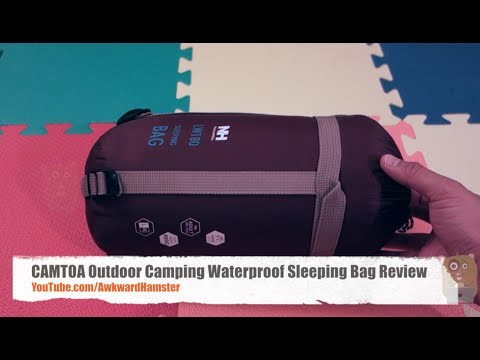 CAMTOA Outdoor Camping Waterproof Sleeping Bag Review