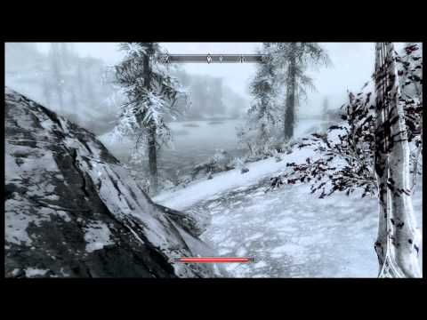 Let's Play The Elder Scrolls V: Skyrim P.14 Ice Wraith