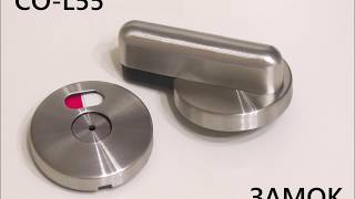 Фурнитура из нержавеющей стали для сантехперегородок hpl