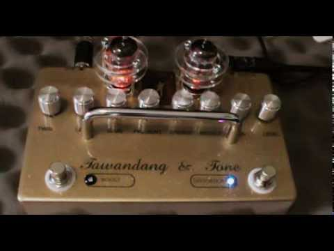 TUBE KING PEDAL  12AX7&6189 TUBE SERIES  By Pipo Tone THAILAND