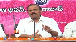 TRS MLC karne Prabhakar Comments On TG Venkatesh Over Comments On MP K Keshava Rao | iNews - INEWS