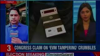 Report from Surat minutes before voting began; Congress claim on 'EVM tampering' crumbles - NEWSXLIVE
