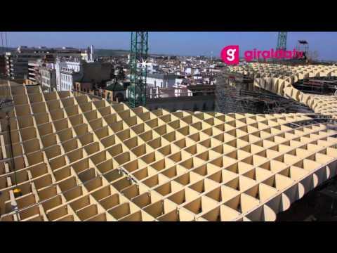 В Севилье построили крупнейшее деревянное сооружение