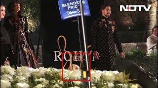 सिद्धार्थ मल्होत्रा के रैंप शो में डॉग की एंट्री - NDTVINDIA