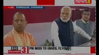 PM Modi reviews development projects in Ramnagar, Varanasi - NEWSXLIVE